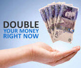 20 examples of Double in a Day Trades using an 80 pip trend